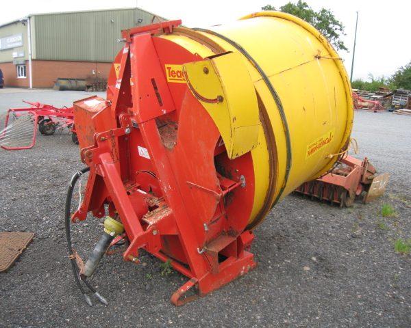 teagle 4040 bale shredder-5