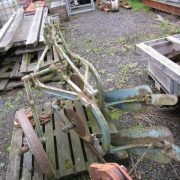 ford ransomes 2 furrow plough-4