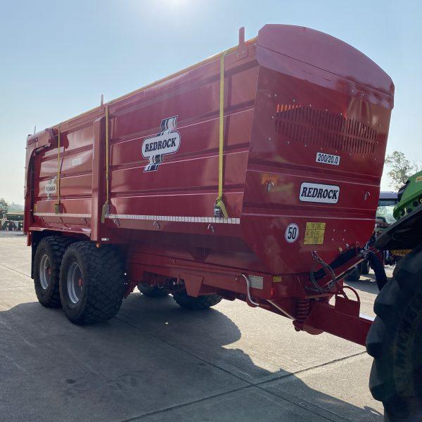 redrock 20 tonne grain trailer-3