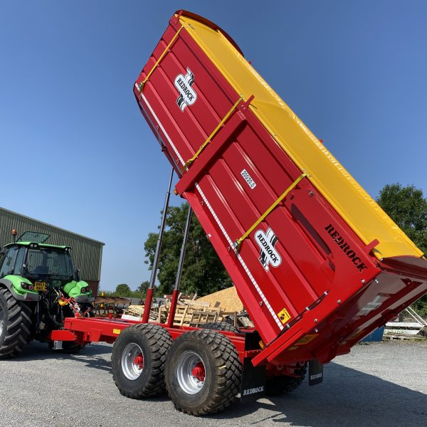 redrock 20 tonne grain trailer-5