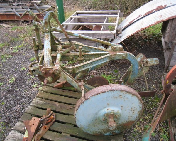 ford ransomes 2 furrow plough-3